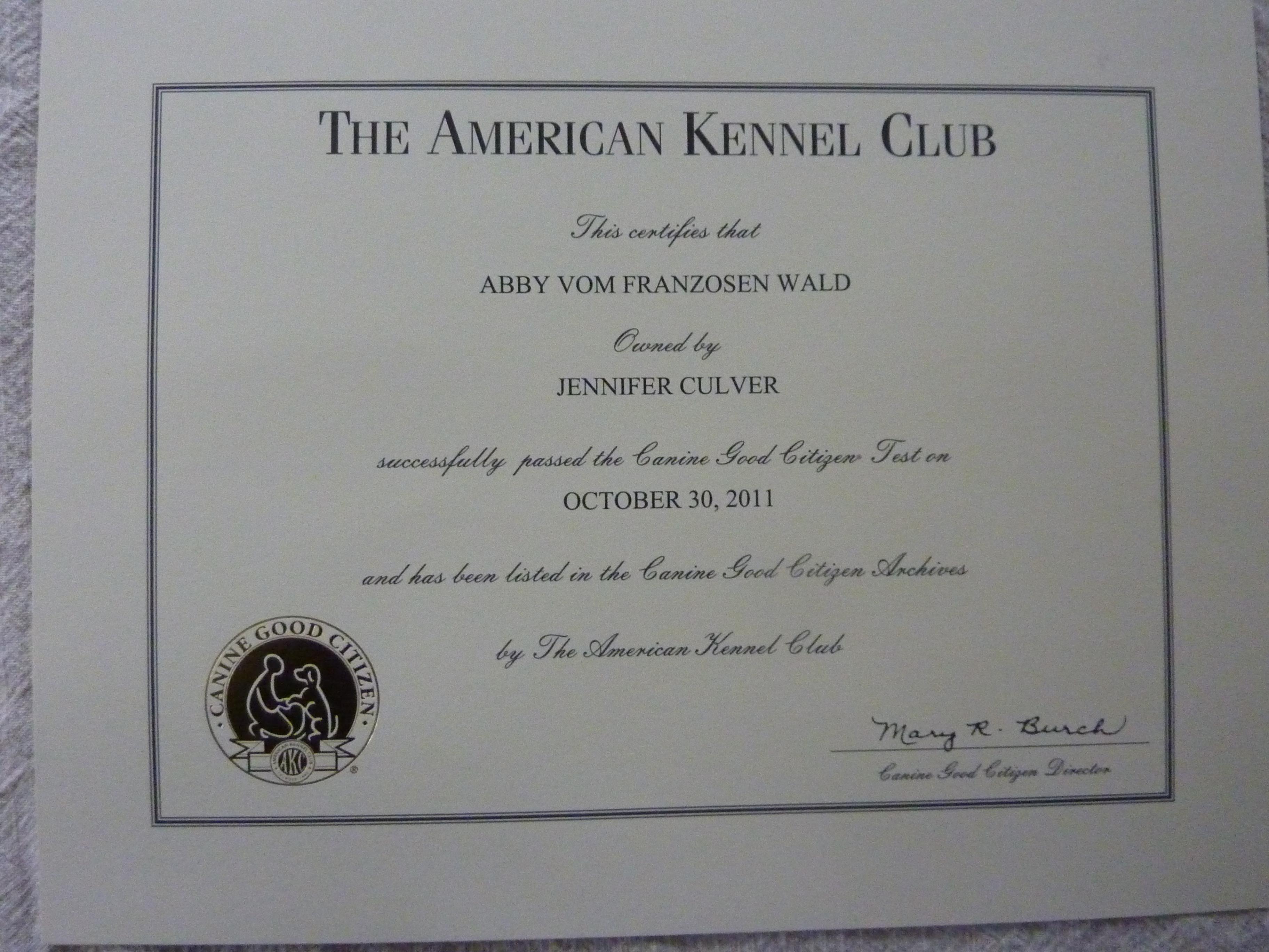 Sar Certified Abigail New York State Of Mind Vom Franzosen Wald Thd