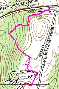 Pink is Eme and Red is the subject, The trail paths overlay almost 100%